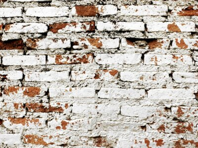 Carta da parati Vecchio muro di mattoni