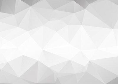 Carta da parati Vector abstract gray triangles background