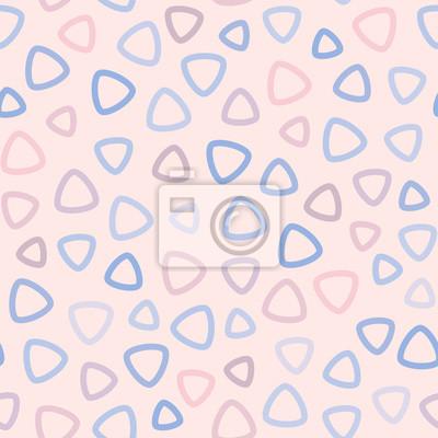 Carta Da Parati Bambini Texture.Vector Astratto Modello Senza Saldatura Per Bambine E Bambini