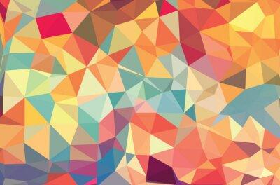 Carta da parati Vector forme geometriche. Sfondo colorato. Struttura per l'uso in