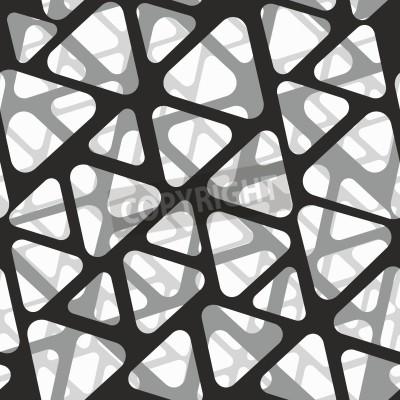 Carta da parati Vector seamless pattern. Struttura moderna 3d di maglia moderna.