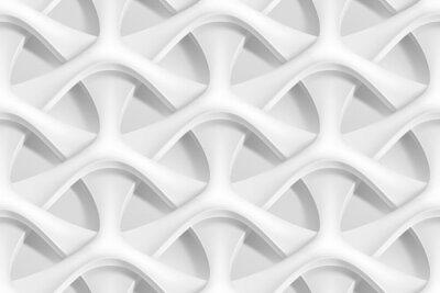 Carta da parati Vector senza soluzione di continuità astratta geometrica modello onde 3d