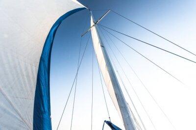 Carta da parati Vela di una barca a vela