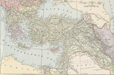 Carta da parati vendemmia turco Empire