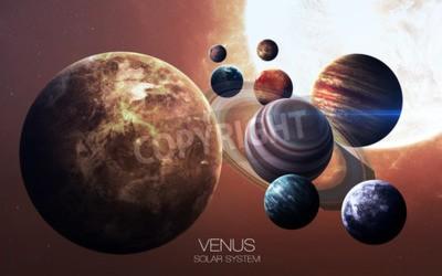 Carta da parati Venus - Immagini ad alta risoluzione presenta pianeti del sistema solare.