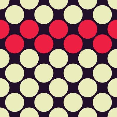 Carta da parati Vettore moderno senza soluzione di continuità colorato puntini geometria modello, colore di sfondo astratto geometrica, cuscino di stampa multicolore, retro tessitura, design di moda pantaloni a vita