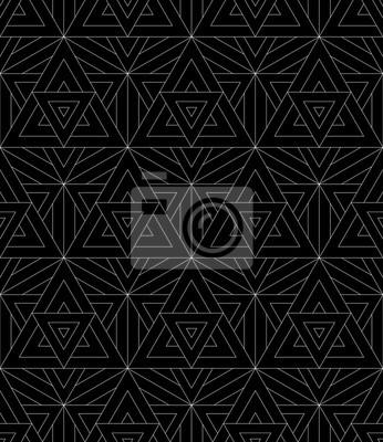 Carta Da Parati Moderna Texture.Vettore Moderno Senza Soluzione Di Modello Geometria Sacra Stampa