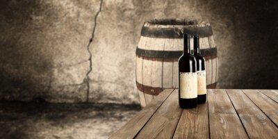 Carta da parati vino