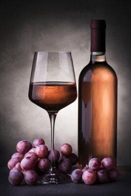 Carta da parati vino rosato