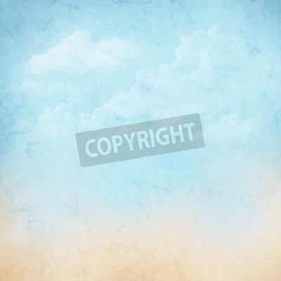 Carta da parati Vintage cielo natura astratta con nuvole di sfondo