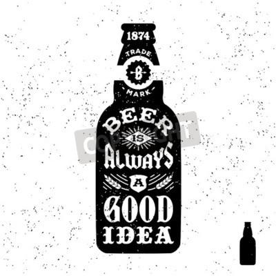 Carta da parati vintage label tipografia in bianco e nero pantaloni a vita bassa, distintivo