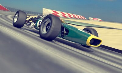 Carta da parati Vintage racer