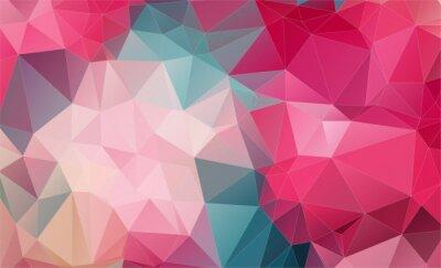 Carta da parati Vintage Two-dimensional  colorful background
