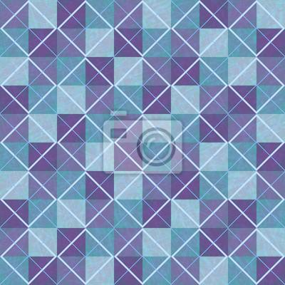 Viola E Blu Texture Senza Soluzione Di Continuità Sfondo Geometrico