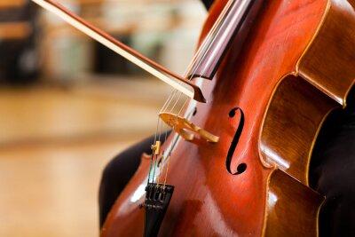 Carta da parati violoncello