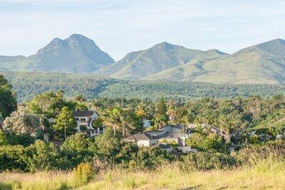 Carta da parati Vista del George in Sud Africa