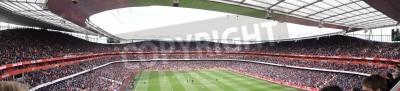 Carta da parati Vista panoramica di Arsenal V Chelsea 0-0 di calcio / calcetto giocato Il 21 aprile 2012, Emirates Stadium, Londra, Inghilterra