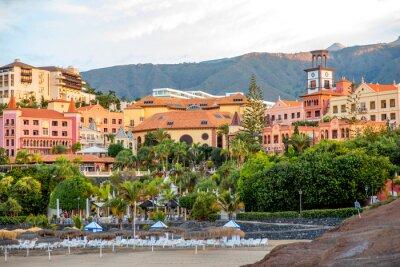 Carta da parati vista Sityscape su Los Cristianos resort