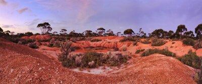 Carta da parati WA Balladonia Red Soil 2 Panorama