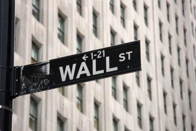 Carta da parati Wall Street
