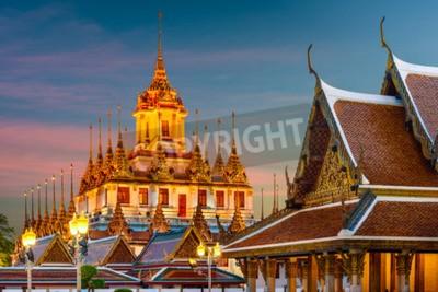 Carta da parati Wat Ratchanatdaram