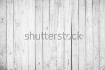 Carta da parati White wood texture background