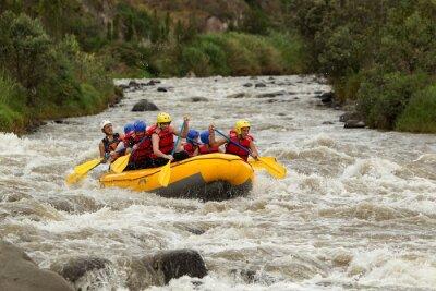 Carta da parati Whitewater Rafting Adventure