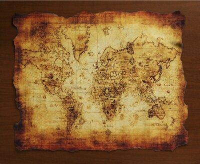 Carta da parati 宝 の 地 図 / 古 い 地 図
