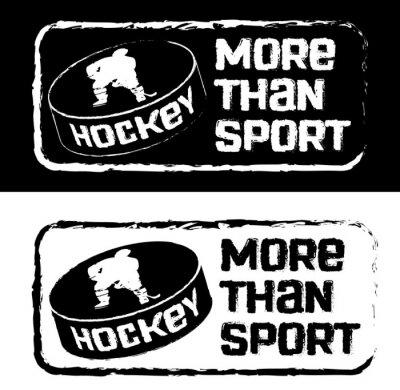 Carta da parati Хоккейный принт на футболку