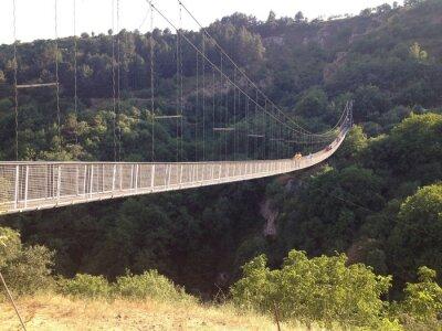 Carta da parati Подвесной мост