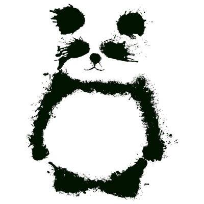 Carta da parati Панда