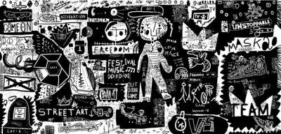 Carta da parati Граффити