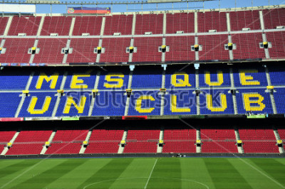 Carta da parati Campionato di calcio a Barcellona, Spagna.