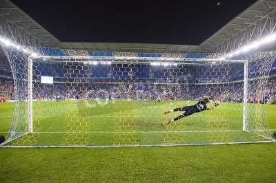 Carta da parati Fernando Pacheco di RM in azione durante la partita di Coppa di Spagna tra UE Cornella e Real Madrid, punteggio finale 1-4, il 29 ottobre 2014, a Cornella, Barcellona, Spagna