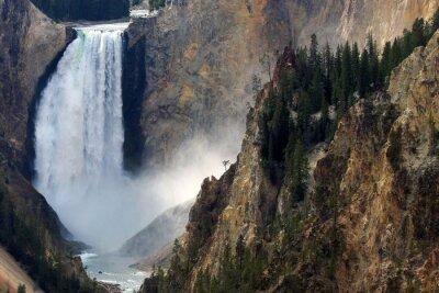 Carta da parati Yellowstone Autunno