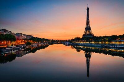 Poster Alba al Torre Eiffel, Parigi