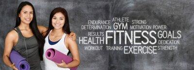Poster Allenamento Fitness