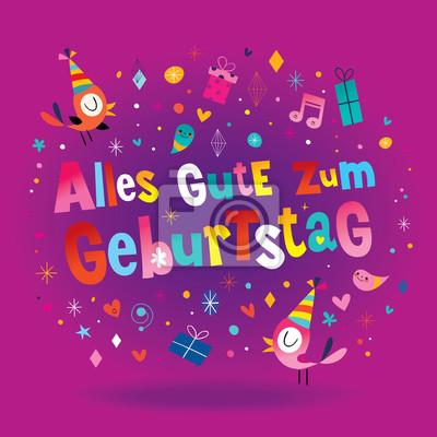 Alles gute zum geburtstag deutsch tedesco auguri di buon