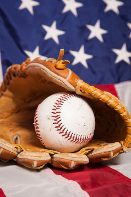 Poster americana di baseball