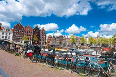Poster Amsterdam è la città più popolosa del Regno dei Paesi Bassi.