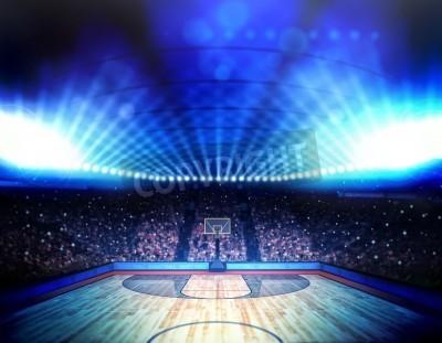 Poster Arena di pallacanestro