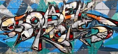 Poster arte dei graffiti a Novi Sad serbia 8