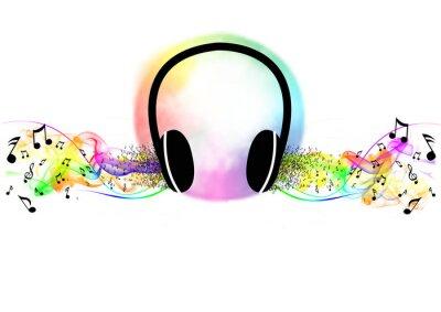 Poster Ascoltare musica