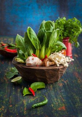 Poster Asian Food Ingredients
