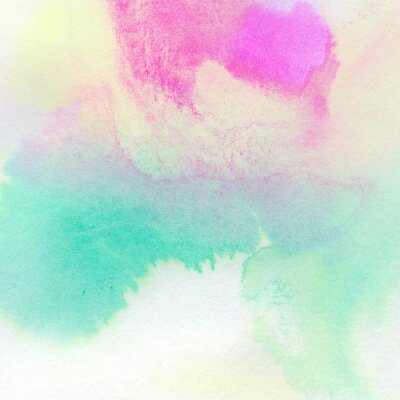 Poster Astratto sfondo colorato acquerello dipinto