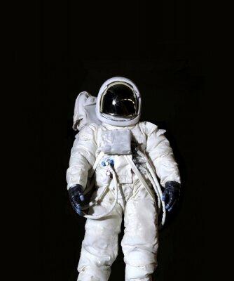 Poster Astronauta su uno sfondo nero
