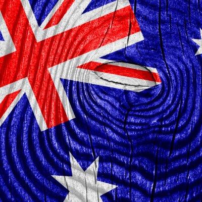 Poster australia flag