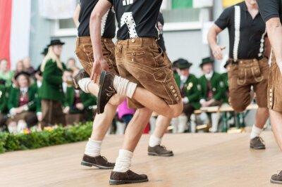 Poster Austria danza popolare