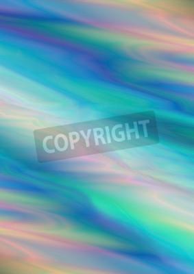 Azzurro Delicato Con Macchie Verdi E Rosa Luce Di Sfondo Sfumato