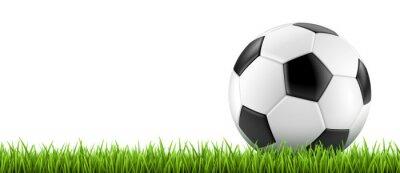 Poster Ballon de football vectoriel 2